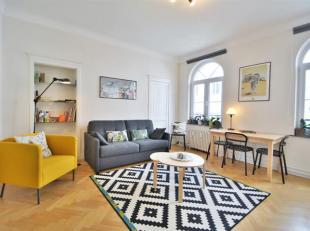 Morgans Real Estate vous invite à découvrir ce charmant et lumineux appartement 1ch. intégralement rénové, id&eacut