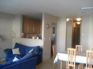 Appartement 1 ste verdiep gelegen Meerminlaan 10 Knokke bestaande uit living, keuken ,berging, badkamer, apart toilet ,2 slaapkamers waarvan 1 kamer m