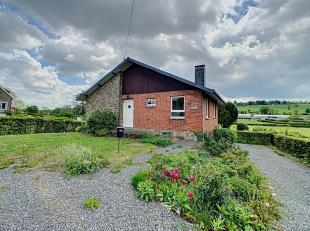 """Louveigné - Ce charmant bungalow dispose de 2 ch, séjour, sdb, caves, garage et agréable jardin. Dispo de suite. PEB """"D"""" n°20"""