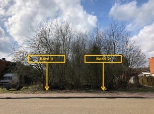 Bouwgrond van 847 m². Lot 3A is vooraan, lot 3B is achteraan. Geschikt voor halfopen bebouwing. De bebouwbare oppervlakte is 119 m². De bouw
