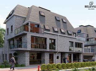 Dit nieuwbouwappartement op de tweede verdieping van Residentie Sofie is gelegen aan de linkse kant. Indeling: inkom, toilet met een handwasser, 2 sla