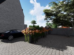 Loft met 1 slaapkamer op de tweede en derde verdieping van de nieuw te bouwen Residentie De Vrijheid. De werken starten op 12 oktober, de oplevering i