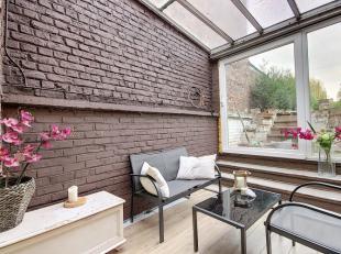 Jodoigne, très agréable maison récemment rénovée (2015) avec jardin de 175 m² brut (135 m² habitable) com