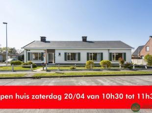 OPEN HUIS ZATERDAG 20 MAART VAN 10h30 tot 11h30Deze Bungalow met vlotte verbinding naar Brugge en de kust is gelegen in een kindvriendelijke buurt waa
