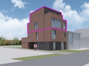 Drie energie zuinige appartementen met een hoge afwerkingsgraad.<br /> Duplex appartement met 3 slaapkamers.<br /> Indeling verdieping 2:inkomhal, toi