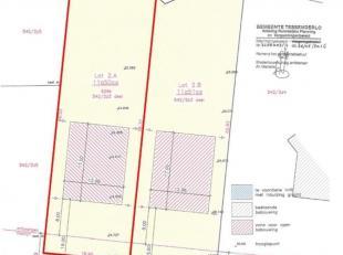Langs de N287 te Tessenderlo vinden we deze bouwgrond van 11a50ca voor open bebouwing. Het perceel heeft een straatbreedte van 18,90 meter en de diept