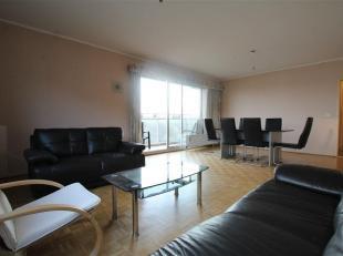 Dans un quartier résidentiel de Ganshoren, situé au 7ème étage, un appartement de +/-100 m2 avec belle terrasse Sud-Ouest