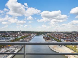 UP SITE TOWER (quai des péniches 69 à 1000 Bruxelles) - Situé au 20ème étage de la plus haute tour de logements de
