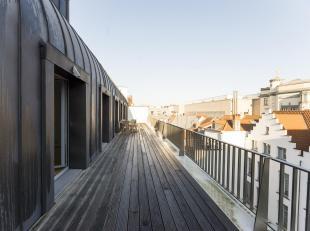Rue de Ruysbroeck 67 (bte 6) à 1000 Bruxelles--En plein cur du Bruxelles, dans un immeuble prestigieux, fleuron du quartier du Sablon, spacieux