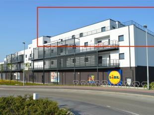 AFGEWERKT NIEUWBOUW PENTHOUSE MET 2 SLK EN TERRAS VAN 102 M2 IN HARTJE LEOPOLDSBURG Vlakbij Leopoldsburg-centrum en met vlotte bereikbaarheid naar oml