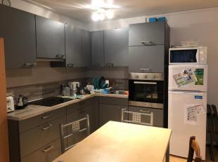 Appartement meublé comprenant une superbe cuisine équipée récente, coin repas et partie chambre, sdb avec wc.