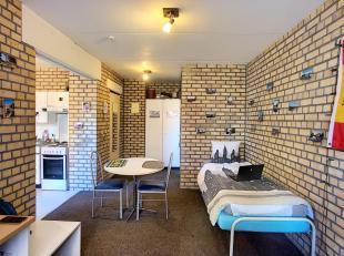 LLN, quartier Hocaille, studio comprenant pièce principale, coin cuisine, salle de douche avec WC.