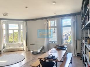 IMMOSCHMIDT (Réf. 17555) - ST GILLES - LIBRE LE 01/12/2019 : Spacieux appartement de +/- 100 m²  dans un immeuble de caractère comp