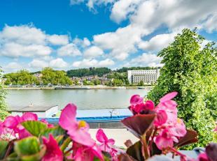 (FIKS EghezÃÂe 081/81 29 00) A Jambes, (bord de Meuse), magnifique appartement de standing, 3 chambres, 1 SDB avec bain à bulles +