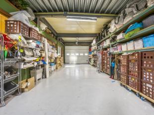 Woning + magazijn met tuin en conciërgewoning! Gelegen te Gent, met een vlotte verbinding naar snelwegen en in de buurt van openbaar vervoer, win