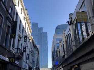 In het hart van de drukste winkelwijk van Brussel vindt u deze ideaal gelegen commerciële ruimte. Het pand heeft een oppervlakte van ± 100
