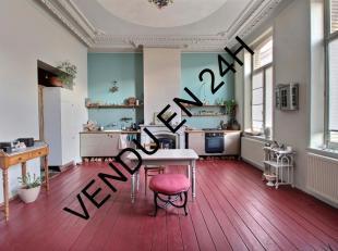 Louise  Appartement 1/2 chambre(s), avec 2 terrasses.Au premier étage d'un petit immeuble, un appartement d'artiste aménagé avec