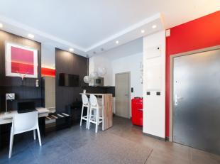 Studios meublés  Quartier Dansaert Au coeur de Bruxelles, entre les quartiers de la Bourse, des Halls Saint-Géry et Dansaert, plusieurs