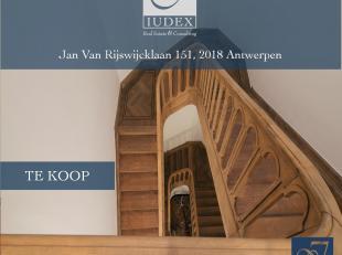 Schitterende en volledig gerenoveerde meesterwoning te koop aan Jan Van Rijswijcklaan in 2018 Antwerpen, buurt Markgrave.<br /> <br /> Deze laan wordt