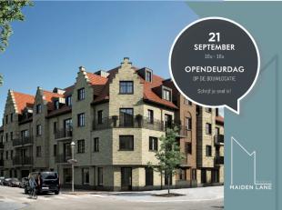 Residentie Maiden Lane is een nieuwbouwcomplex met 25 mooi afgewerkte appartementen en een handelsglv. Met zijn ligging, architectuur en inrichting ko