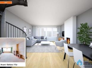 Algemeen:<br /> Deze woning met grote garage/ magazijn van +/- 170m² is goed gelegen.  In de omgeving heeft u scholen en een goede verbinding met