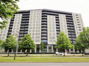 A proximité de l'OTAN. Magnifique appartement NEUF ± 62 m² avec terrasse ± 5 m², situé au 9ème éta