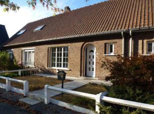Maison d'habitation 2 façades avec très beau jardin d'environ 4 ares 50 ca - idéalement située dans un quartier calme du p