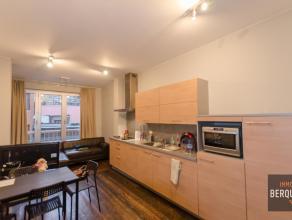 Zeer leuk appartement met aparte slaaphoek in centrum Gent vlakbij het zuid en Muinkpark. Samenstelling: Inkom, toilet, moderne keuken, eetplaats, liv