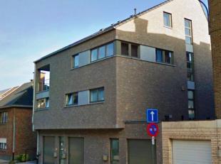 Prachtige gelijkvloersduplex in rustige straat met 3 kamers, ruime leefruimte met open (voll.ing.) keuken, tuin, luxueuze badkamer, apart toilet, opsl