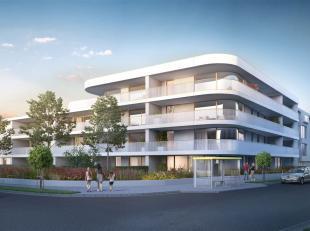 Dit ruime hoekappartement met twee slaapkamers op het gelijkvloers heeft een bewoonbare opp. van 99,2 m², een terras van 69,5 m² en voortuin
