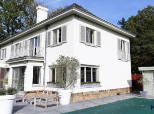 """Beersel / Alsemberg """"au vert"""" !<br /> Belle et grande maison - 300 m² habitables - de 1950 (rénovée en 2014) sur une parcelle SUD/O"""