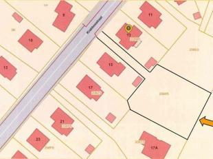 Bouwgrond van 16a 15ca te Krabbosstraat, Dworp.<br /> Bouwgrond geschikt voor het bouwen van een 4-gevelwoning met maximum 2 bewoonbare niveaus.<br />