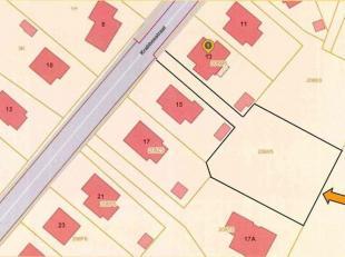 Bouwgrond van 16a 15ca te Krabbosstraat, BEERSEL -Dworp.<br /> Bouwgrond geschikt voor het bouwen van een 4-gevelwoning met maximum 2 bewoonbare nivea