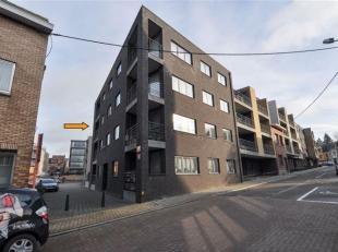 Appartement met veel lichtinval op de 2de verdieping (lift) met 2 slaapkamers, terras & 2 ondergrondse staanplaatsen op wandelafstand van het trei