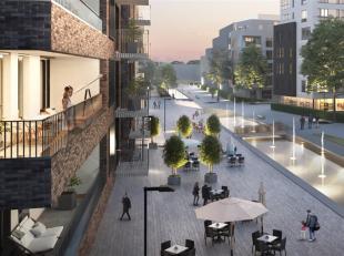 Boek je afspraak via www.pajota.be<br /> Nieuwbouwappartement met 3 kamers in Erasmus Gardens te Anderlecht<br /> 3e verdieping - lift aanwezig<br />