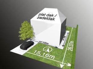 Bouwgrond voor 3-gevelwoning op 3a63ca te Meerbeke<br /> Deze bouwgrond is gelegen langsheen een kindvriendelijke straat in een residentiële wijk