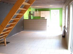 Appartement 2 chambres, idéalement situé au centre-ville, proche de tout commerce, comprenant un hall d'entrée, grand séjo