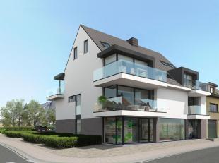 Immo Van Middelem biedt u dit kleinschalig nieuwbouwproject 'Boonhof' aan met 5 appartementen (met lift) en 1 handelsruimte in een extra ruim gebouw m