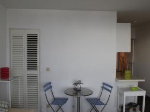 Immo Alphabitat vend cet appartement une chambre au 17ème étage d'un immeuble de 19 étages avec ascenseur à Anderlecht. Ha