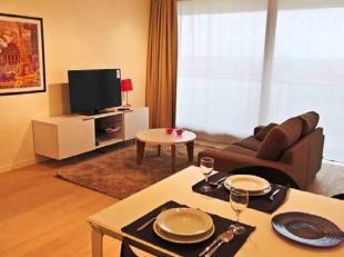 Immo Alphabitat loue ce superbe appartement meublé situé à proximité de l'OTAN. Il se situe au 8ème étage d'