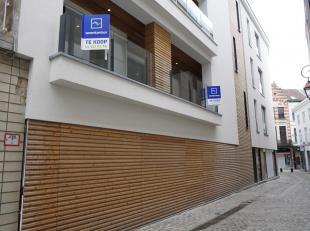Groot appartement van 130 m² op de eerste verdieping in het centrum van de stad. Afgewerkt met kwalitatieve materialen. Indeling: inkomhal, leefr
