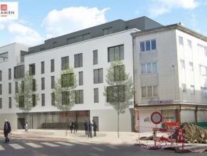Handelspand te koop bestaande uit een winkelproject in de Paleisstraat voor 464 m² handelruimte, prijs is voor casco oplevering. Parkings zijn ap
