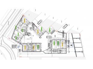 Ruime garage nabij het centrum van Gistel, voorzien van een poort. Gelegen in de nabijheid van scholen, winkels en het openbaar vervoer. Een plaats wa