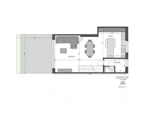 Duplex à vendre à Malderen, € 355.000