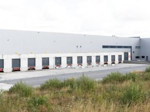 Vlak bij de E42, in de industriezone van Courcelles, heeft WDP een site van 106.735 m². De energiekost wordt aanzienlijk verlaagd door zonnepanel