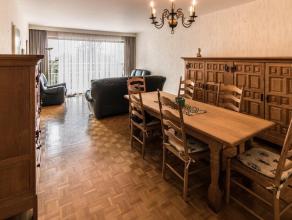 SINT-LAMBRECHTS-WOLUWE - Goed onderhouden en rustig gelegen appartement op de 4de verdieping, te midden van het groen maar op wandelafstand van winkel