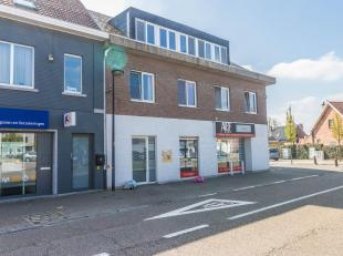 KORTENBERG (centre): appartement très bien entretenu (65 m²) avec une chambre spacieuse au 2ème étage d'une petite ré