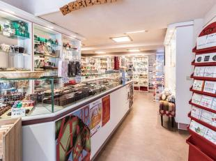 KORTENBERG - Excellent rez-de-chaussée commercial comprenant un espace commercial, actuellement une chocolaterie / confiserie, une cuisine s&ea