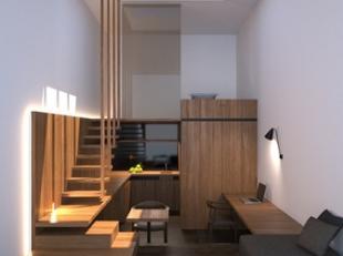 NIEUWBOUWPROJECT met STUDIOS gelegen in het TRENDY WIJK DANSAERT/ST KATELIJNE – Originele architectuur – Kwaliteitsvolle materialen – MOGELIJKHEID SEM