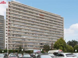 Dit ruim appartement, gelegen op de elfde verdieping, beschikt over twee slaapkamers, een ruime leefruimte met parket, terras met een fantastisch verg